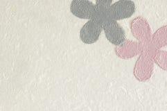 Blaue und rosafarbene Blumen Lizenzfreie Stockfotografie