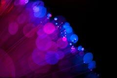 Blaue und rote Lichter Lizenzfreies Stockfoto