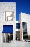 Blaue und weiße Fassade Stockbilder