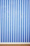 Blaue und weiße Streifen Lizenzfreie Stockbilder