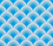 Blaue Vektorfischschuppen Stockfoto