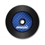 Blaue Vinylplatte Lizenzfreie Stockbilder
