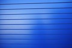 Blaue Wand Stockfoto