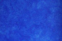 Blaue Wand der Beschaffenheit Lizenzfreies Stockfoto
