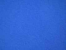 Blaue Wand eines Hauses Stockfoto