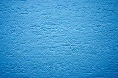 Blaue Wandbeschaffenheit Stockbild