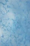 Blaue Wandbeschaffenheit lizenzfreie stockfotos