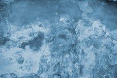 Blaue Wandbeschaffenheit Stockfotos