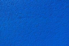 Blaue Wandbeschaffenheit in der Nahaufnahme Lizenzfreie Stockfotos