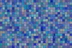 Blaue Wandfliesen Lizenzfreie Stockfotografie