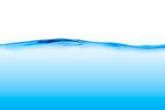 Blaue Wasserlinie Stockfotografie