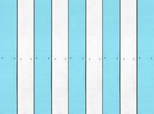Blaue weiße Hartholzhintergrund Beschaffenheit Stockbilder