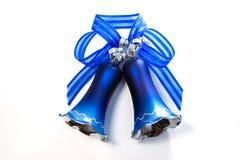 Blaue Weihnachtsglocke Stockbilder
