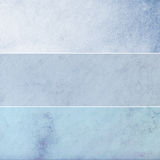 Blaue Weinlese-Hintergrund-Sammlung Stockfoto