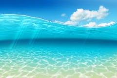Blaue Welle lizenzfreie stockfotografie