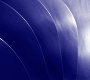 Blaue Welle stockfotografie