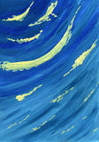 Blaue Welle vektor abbildung