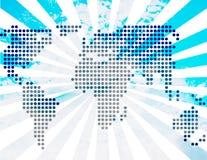 Blaue Welt Stockbilder
