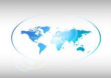 Blaue Welt Lizenzfreie Stockfotos