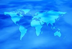 Blaue Welt