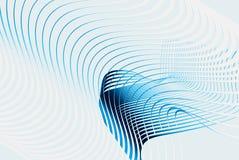 Blaue Zeile 3d Lizenzfreies Stockbild