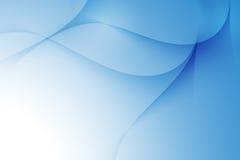 Blaue Zeile Auszugshintergrund lizenzfreies stockfoto