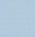 Blaue Zeile Zeichenpapier mit Maßeinteilung Lizenzfreies Stockbild