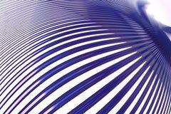Blaue Zeilen stock abbildung