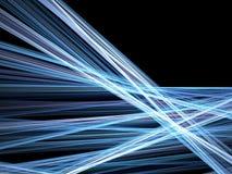 Blaue Zeilen des Bewegungszitterns Lizenzfreie Stockfotos