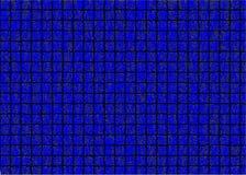 Blaue Ziegelsteine Abstrakter Hintergrund, Abbildung Lizenzfreie Stockfotos