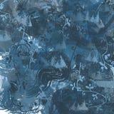 Blaue Zusammenfassung Stockbilder