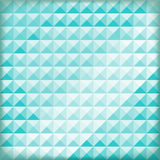 Blaue Zusammenfassung des Polygons, Hintergrund lizenzfreie abbildung