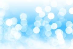 Blauer abstrakter bokeh Hintergrund lizenzfreies stockfoto