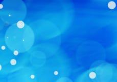 Blauer abstrakter heller Hintergrund Stockfoto