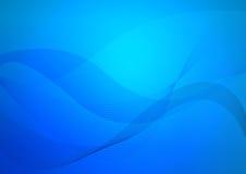 Blauer abstrakter Hintergrund Lizenzfreie Stockbilder