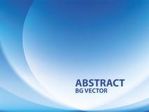 Blauer abstrakter Hintergrund Stockbilder