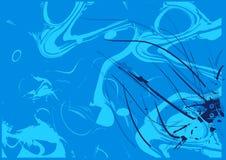 Blauer abstrakter Hintergrund vektor abbildung