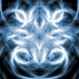 Blauer abstrakter Hintergrund Lizenzfreies Stockfoto