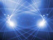 Blauer abstrakter Hintergrund Stockbild