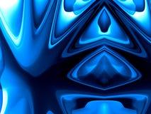 Blauer abstrakter Hintergrund 9 Stockfotografie