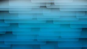 Blauer abstrakter Hintergrund auf dem schwarzen Streifen Stockfotos
