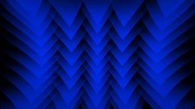 Blauer abstrakter Hintergrund auf dem schwarzen Streifen Lizenzfreie Stockfotografie