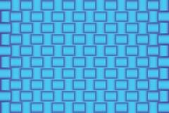 blauer abstrakter Hintergrund des Musters 3d Lizenzfreie Stockbilder