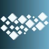 Blauer abstrakter Hintergrund in techno Art Lizenzfreie Stockbilder