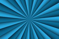 Blauer abstrakter Hintergrund, zwei Schatten von blauen Linien lizenzfreie abbildung