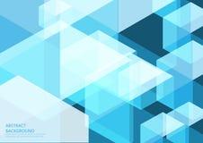 Blauer abstrakter Hintergrundhintergrund Lizenzfreie Stockfotografie