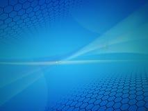 Blauer abstrakter Hintergrundplan Lizenzfreies Stockfoto