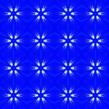 Blauer abstrakter nahtloser Musterhintergrund Lizenzfreie Stockfotografie