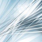 Blauer abstrakter Stahlhintergrund Lizenzfreie Stockfotografie