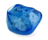 Blauer Achat Lizenzfreies Stockbild
